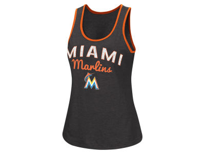 Miami Marlins G-III Sports MLB Women's Power Punch Glitter Tank