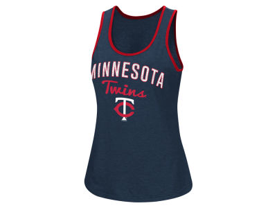 Minnesota Twins G-III Sports MLB Women's Power Punch Glitter Tank