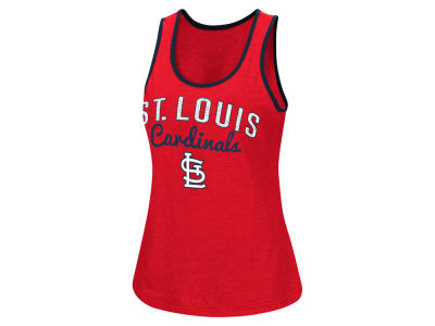St. Louis Cardinals MLB Women's Power Punch Glitter Tank
