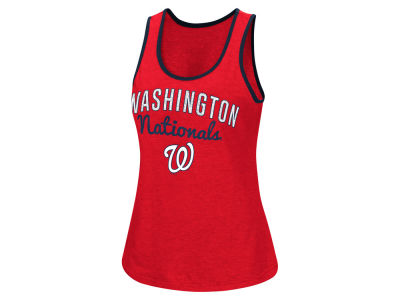 Washington Nationals G-III Sports MLB Women's Power Punch Glitter Tank