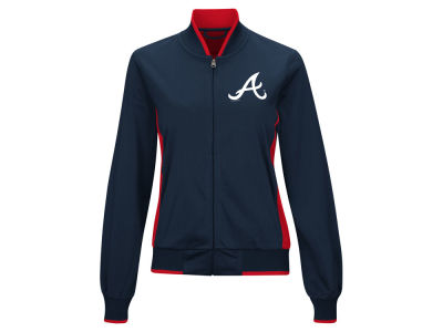 Atlanta Braves MLB Women's Triple Track Jacket