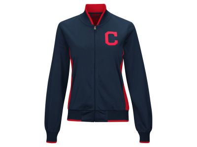 Cleveland Indians MLB Women's Triple Track Jacket