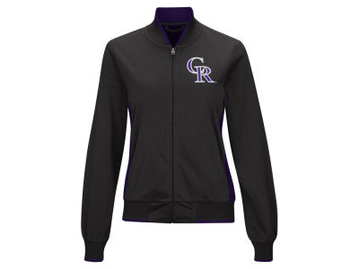 Colorado Rockies G-III Sports MLB Women's Triple Track Jacket