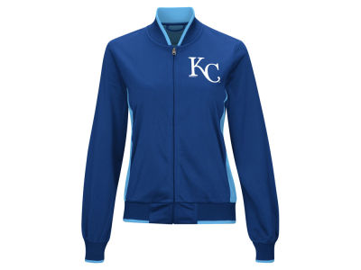 Kansas City Royals G-III Sports MLB Women's Triple Track Jacket