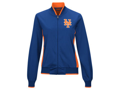 New York Mets MLB Women's Triple Track Jacket