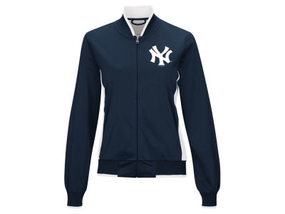 New York Yankees MLB Women's Triple Track Jacket