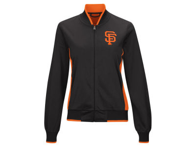 San Francisco Giants MLB Women's Triple Track Jacket