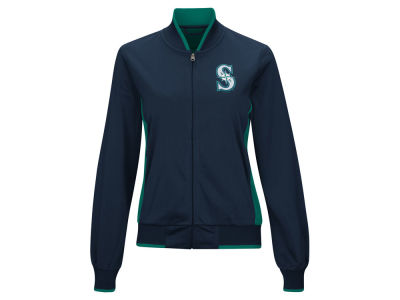Seattle Mariners MLB Women's Triple Track Jacket