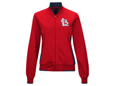 St. Louis Cardinals MLB Women's Triple Track Jacket