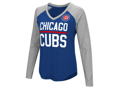 Chicago Cubs G-III Sports MLB Women's Power Hitter Raglan T-shirt