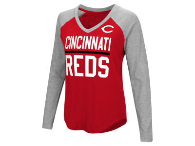 Cincinnati Reds G-III Sports MLB Women's Power Hitter Raglan T-shirt