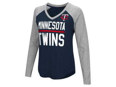 Minnesota Twins MLB Women's Power Hitter Raglan T-shirt