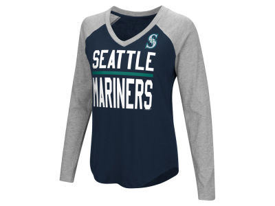 Seattle Mariners MLB Women's Power Hitter Raglan T-shirt