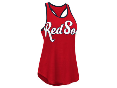 Boston Red Sox G-III Sports MLB Women's Oversize Logo Tank