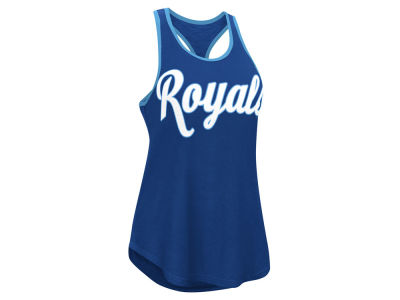 Kansas City Royals MLB Women's Oversize Logo Tank