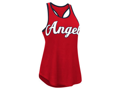 Los Angeles Angels MLB Women's Oversize Logo Tank