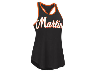 Miami Marlins G-III Sports MLB Women's Oversize Logo Tank