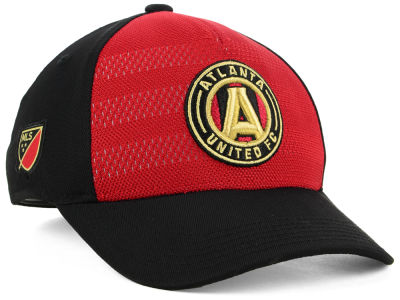 Atlanta United FC Outerstuff MLS Youth Authentic Structured Flex Cap