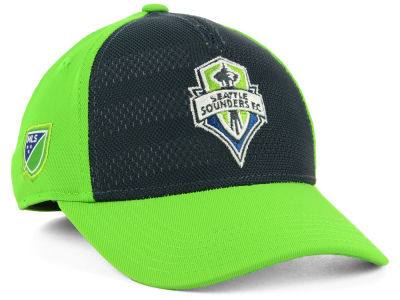 Seattle Sounders FC Outerstuff MLS Youth Authentic Structured Flex Cap