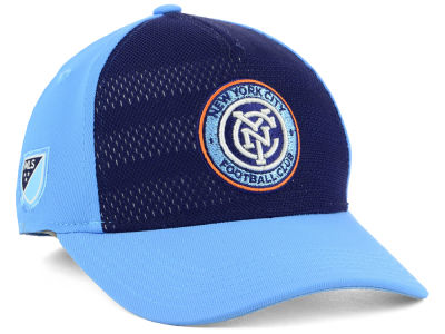 New York City FC Outerstuff MLS Youth Authentic Structured Flex Cap