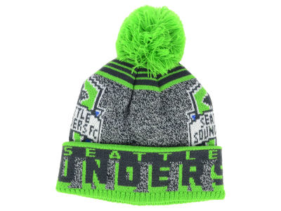 Seattle Sounders FC Outerstuff Youth Allover Jaquard Cuff Pom
