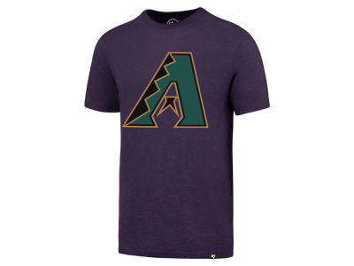 Arizona Diamondbacks '47 MLB Men's Scrum Coop Logo T-Shirt