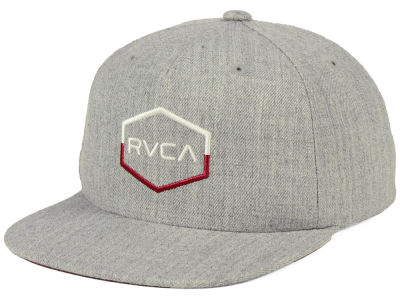 RVCA Youth Commonwealth Snapback Cap