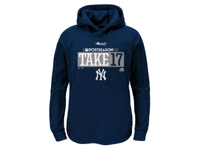New York Yankees Majestic 2017 MLB Youth Postseason Streak Hoodie