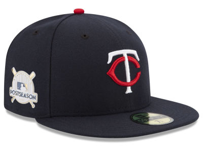 Minnesota Twins New Era 2017 MLB Youth Post Season 59FIFTY Cap