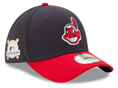 Cleveland Indians New Era 2017 MLB Youth Post Season 39THIRTY Cap