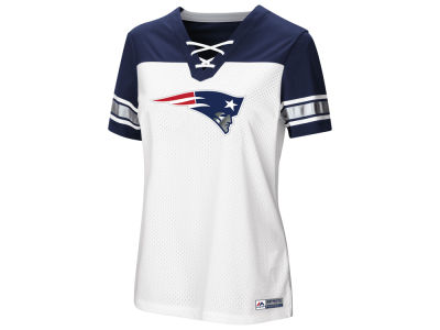 New England Patriots Majestic 2018 NFL Women's Draft Me T-Shirt