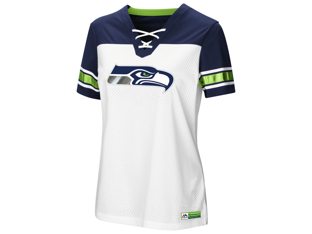 Seattle Seahawks Majestic 2018 NFL Women s Draft Me T-Shirt  70b9209b2