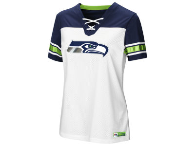 Seattle Seahawks Majestic 2018 NFL Women's Draft Me T-Shirt