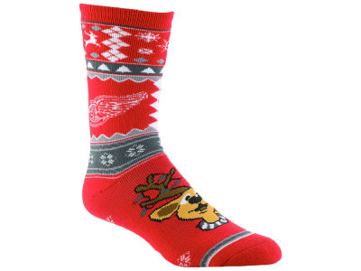 Detroit Red Wings Holiday Socks