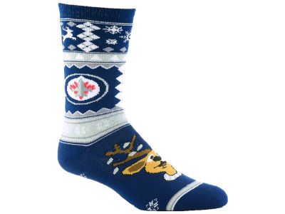 Winnipeg Jets Holiday Socks