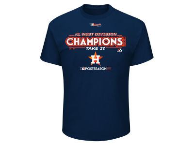Houston Astros Majestic 2017 MLB Youth Division Champ T-Shirt
