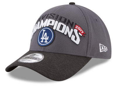 Los Angeles Dodgers New Era 2017 MLB Division Champ 9FORTY Cap