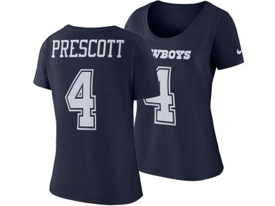 Dallas Cowboys Dak Prescott NFL Women's Mesh Player Pride T-Shirt