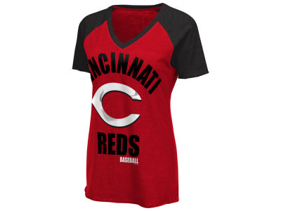 Cincinnati Reds G-III Sports MLB Women's Game On T-Shirt