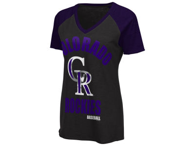 Colorado Rockies G-III Sports MLB Women's Game On T-Shirt