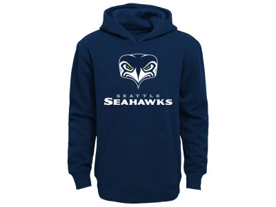 Seattle Seahawks NFL Youth Front Face Hoodie