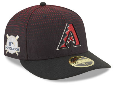Arizona Diamondbacks New Era 2017 MLB Post Season Low Profile Patch 59Fifty Cap