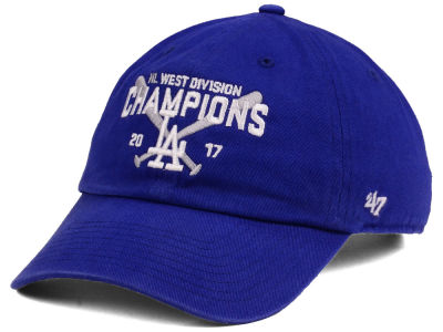 Los Angeles Dodgers '47 2017 MLB Division Champs CLEAN UP Cap