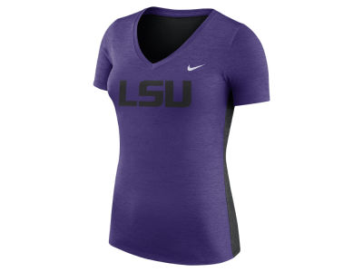 LSU Tigers Nike NCAA Women's Dri-Fit Touch T-Shirt