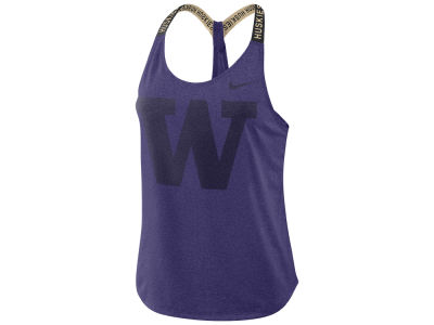 Washington Huskies Nike NCAA Women's Elastika Tank