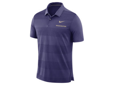 Washington Huskies Nike NCAA Men's Early Season Coaches Polo
