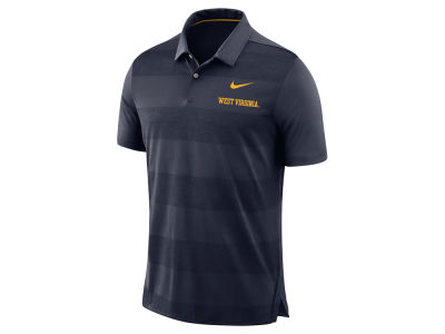 West Virginia Mountaineers Nike NCAA Men's Early Season Coaches Polo