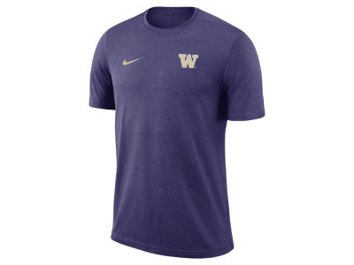 Washington Huskies Nike NCAA Men's Dri-Fit Coaches T-shirt