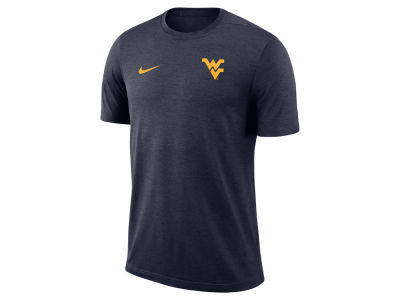 West Virginia Mountaineers Nike NCAA Men's Dri-Fit Coaches T-shirt