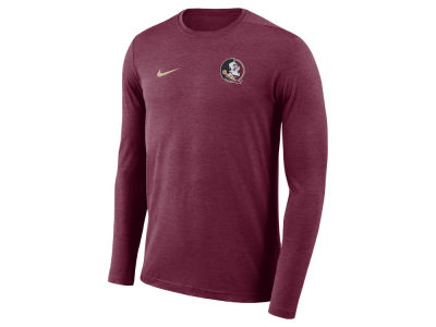 Florida State Seminoles Nike NCAA Men's Long Sleeve Dri-Fit Coaches T-shirt